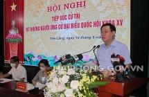 ប្រធានរដ្ឋសភាលោក Vuong Dinh Hue អញ្ជើញជួបសំណេះសំណាលជាមួយម្ចាស់ឆ្នោតនៅស្រុក Tien Lang ទីក្រុង Hai Phong