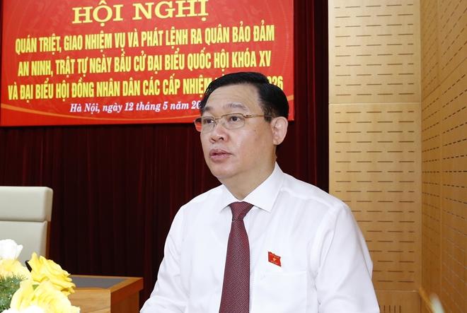 ប្រធានរដ្ឋសភាលោក Vuong Dinh Hue។ (រូបថត៖ VGP)