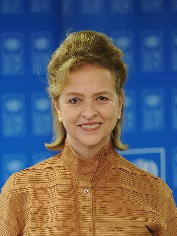 លោកស្រី Caitlin Wiesen ប្រធានតំណាងនៃកម្មវិធីអភិវឌ្ឍន៍សហប្រជាជាតិ (UNDP) ប្រចាំនៅប្រទេសវៀតណាម។