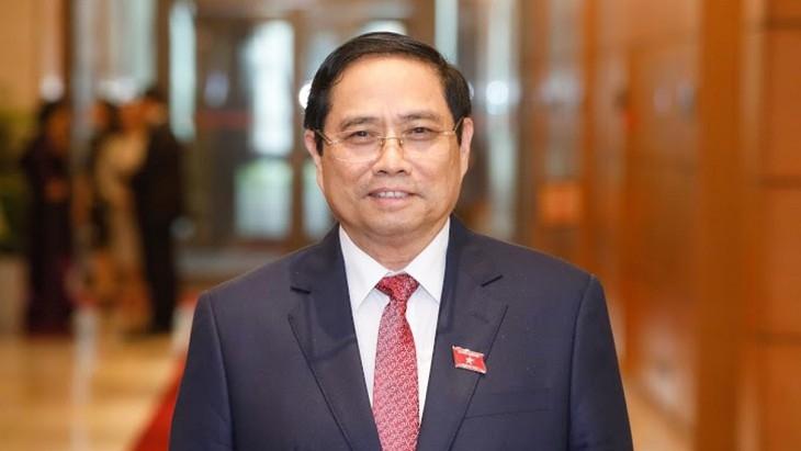 រដ្ឋសភានីតិកាលទី ១៥ បោះឆ្នោតជ្រើសតាំងលោក Pham Minh Chinh កាន់តំណែងជានាយករដ្ឋមន្ត្រីសម្រាប់អាណត្តិ ២០២១-២០២៦