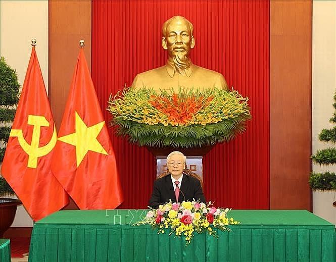 អគ្គលេខាបក្ស លោក Nguyen Phu Trong (រូបថត៖ TTXVN)