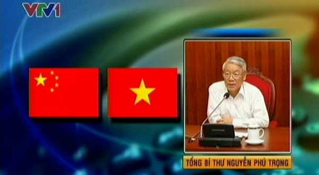 អគ្គលេខាបក្សកុម្មុយនិស្តវៀតណាមលោក Nguyen Phu Trong អញ្ជើញជួបសន្ទនាការងាតាមទូរស័ព្ទជាមួយអគ្គលេខាបក្ស ប្រធានរដ្ឋចិនលោក Xi Jinping