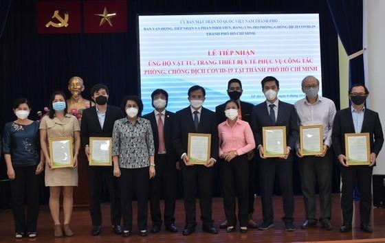 Project Vietnam Foundation ប្រគល់សំភារៈវេជ្ជសាស្រ្តដមើម្បីបង្ការជំងឺកូវីដ១៩ ដល់ទីក្រុងហូជីមិញ
