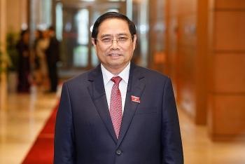 លោក ផាមមីញជីញ (Pham Minh Chinh) ត្រូវបានរដ្ឋសភាបោះឆ្នោតជ្រើសតាំងជានាយករដ្ឋមន្ត្រីវៀតណាម